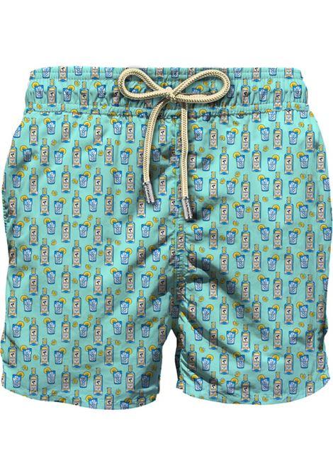 Light fabric swim short MC2  SAINT BARTH |  | LIG0003GINX56