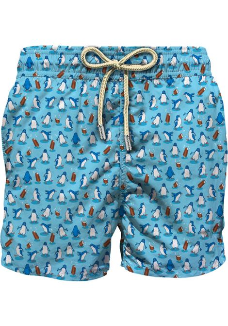 Light fabric swim short MC2  SAINT BARTH |  | LIG0003HAPN31