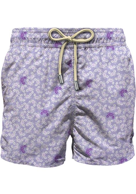 Light fabric swim short MC2  SAINT BARTH |  | LIG0003PINC24