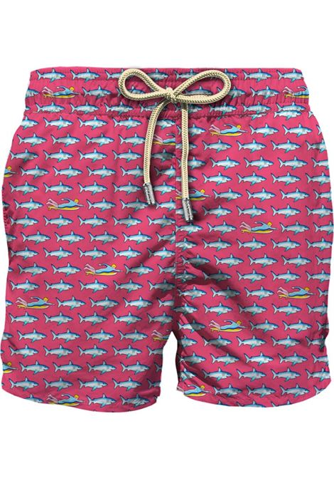 Light fabric swim short MC2  SAINT BARTH |  | LIG0003SFRD25