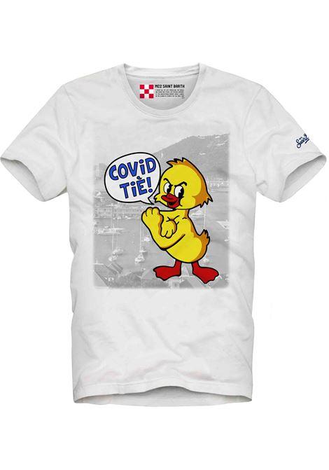 T-SHIRT CON STAMPA MC2  SAINT BARTH | T- shirt | TSHM001CRTE01