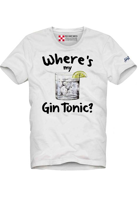 T-shirt con stampa MC2  SAINT BARTH | T- shirt | TSHM001MYGI1N