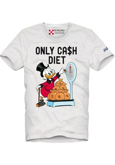 Printed T-shirt MC2  SAINT BARTH | T-shirts | TSHM001SCDI1N