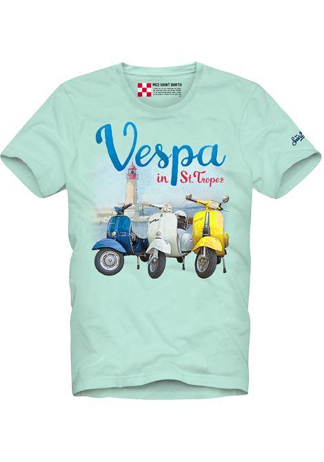 Printed T-shirt MC2  SAINT BARTH | T-shirts | TSHM001VPTR56