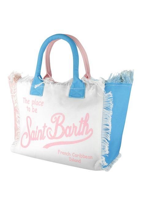 Vanity borsa mare in canvas 36x20x32 MC2  SAINT BARTH | Borse | VANITYCBO321
