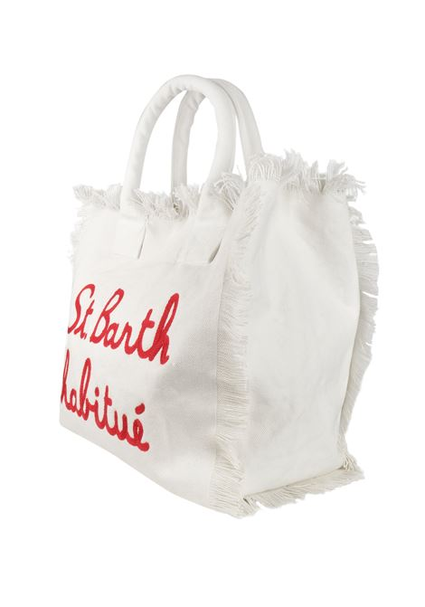 Vanity canvas beach bag MC2  SAINT BARTH | Bags | VANITYEBHV01