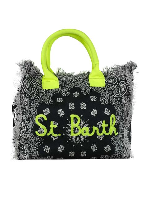 Vanity canvas beach bag MC2  SAINT BARTH | Bags | VANITYEBNR09