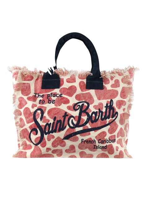 Vanity canvas beach bag MC2  SAINT BARTH | Bags | VANITYHRLV41