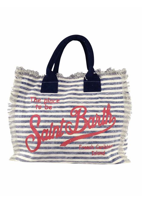 Vanity canvas beach bag MC2  SAINT BARTH | Bags | VANITYLIG61R