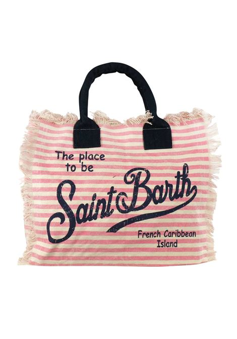 Vanity canvas beach bag MC2  SAINT BARTH | Bags | VANITYLIN21