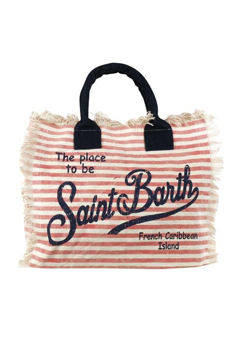 Vanity canvas beach bag MC2  SAINT BARTH | Bags | VANITYLIN41