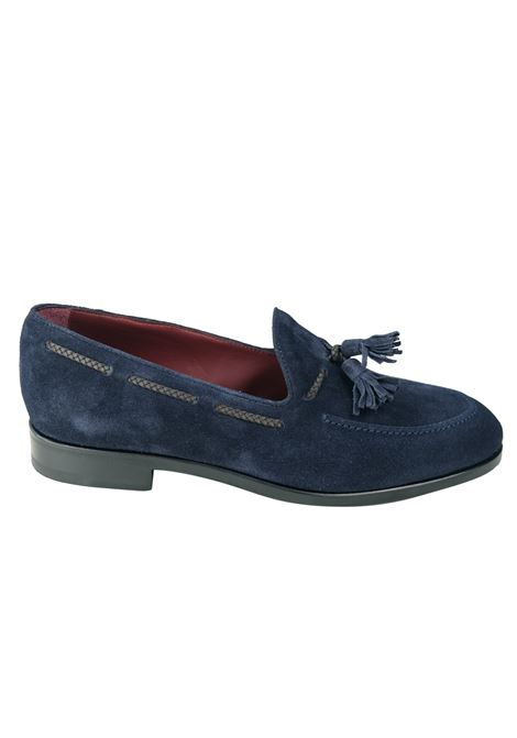 Suede tassels loafer  ORTIGNI | Shoes | 9152T 130BLU