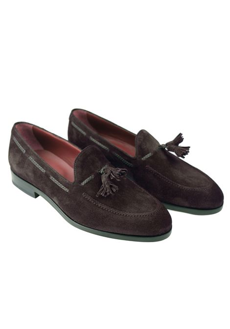 Suede tassels loafer 