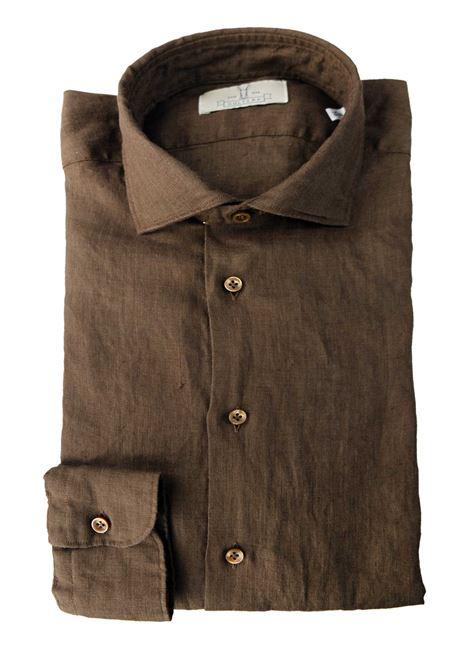 Camicia in lino tinto capo Qultura | Camicie | SA21W23