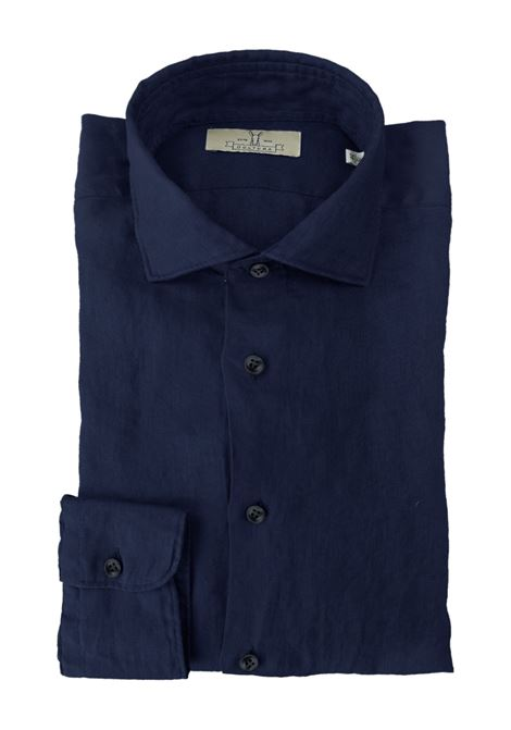 Camicia in lino tinto capo Qultura | Camicie | SA21W26