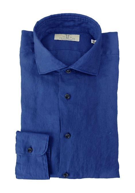 Camicia in lino tinto capo Qultura | Camicie | SA21W40
