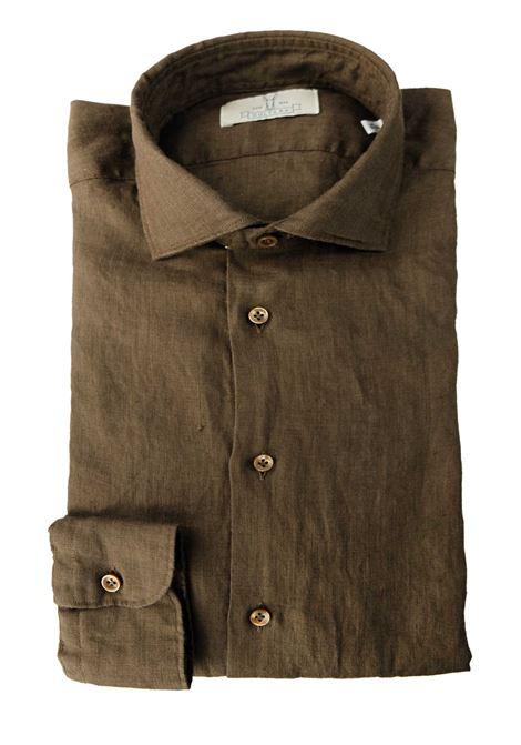 Camicia in lino tinto capo Qultura | Camicie | SA21W66