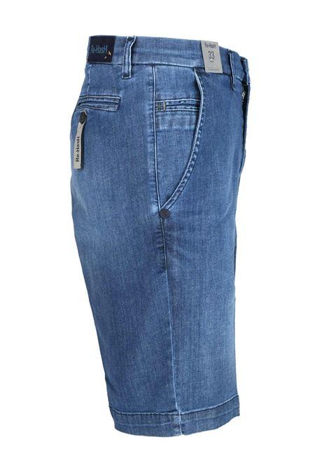 Bermuda in tessuto jeans Re-HasH | Bermuda | BB2835BERNINITJ