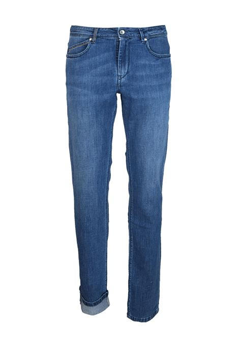 JEANS IN TELA DENIM  8 ONCE Re-HasH | Jeans | P0152888RUBENSET