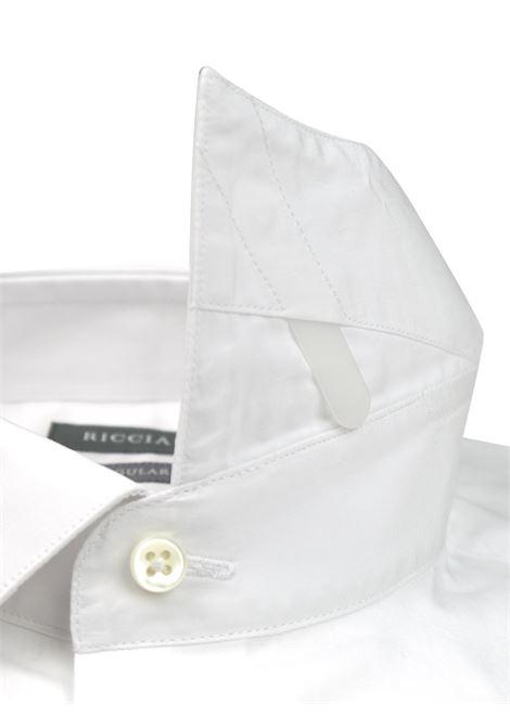 Camicia classica vestibilità SLIM RICCIARDI | Camicie | ADAMODR051
