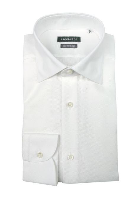 Camicia classica vestibilità SLIM RICCIARDI | Camicie | ADAMORD178