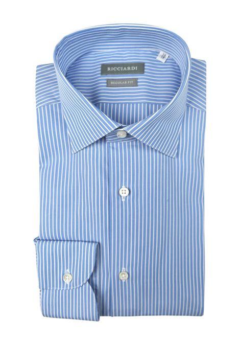 Camicia classica vestibilità regular RICCIARDI | Camicie | ARERC059