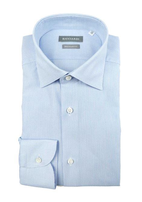 Camicia classica vestibilità regular RICCIARDI | Camicie | ARERD180