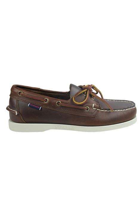 PORTLAND DOCK WAXED BOAT SHOE SEBAGO | Shoes | 70000G0900