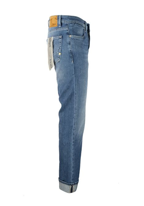 Medium bleached 10oz. jeans SIVIGLIA | Trousers | MQ2000 803406003