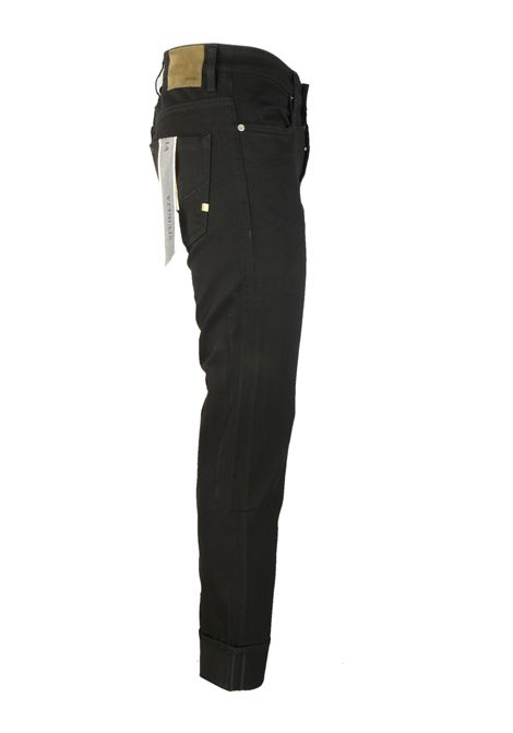 10oz. black denim jeans