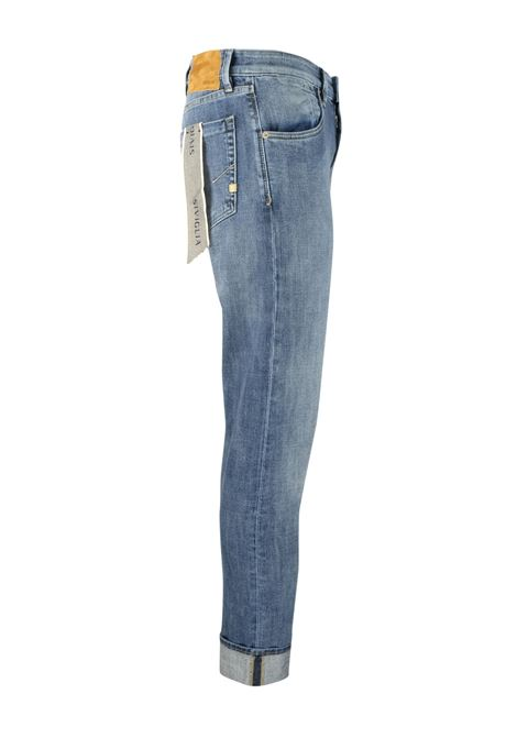 Medium bleached 10oz. jeans SIVIGLIA | Trousers | MQ2004 801306002