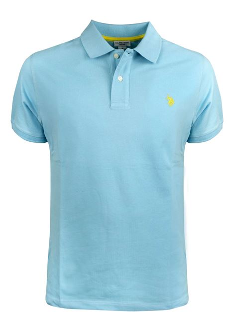 Short sleeves two buttons polo,