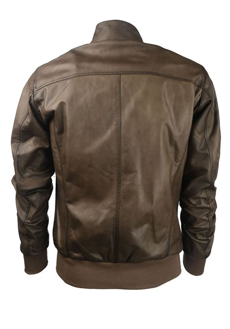 SUPER FINE LEATHER JACKET SLIM FIT Volfagli | Jackets | FOX18Q00