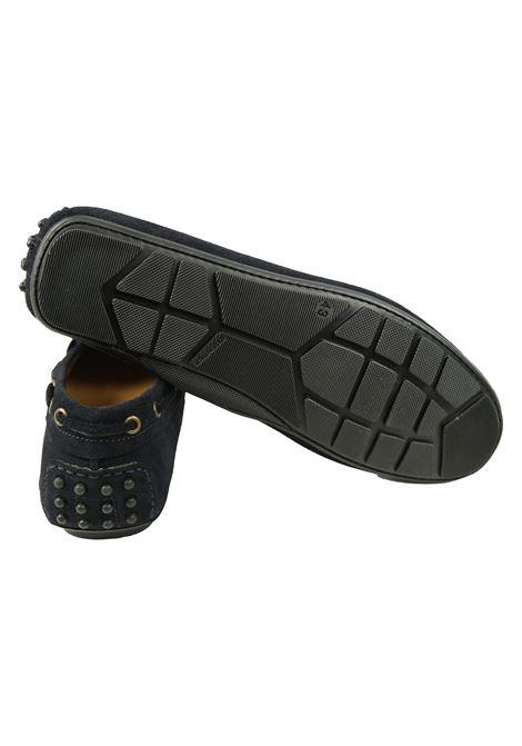 Mocassino scamosciato con lacci Walking | Scarpe | 6070BLU