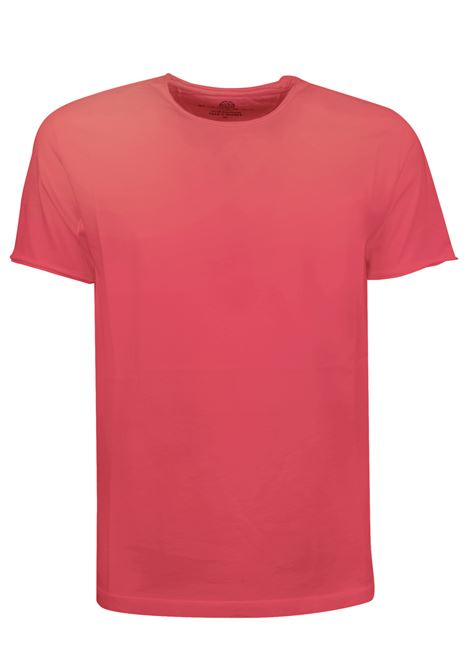 Rolled neck t-shirt 100 % cottonMade in Italy WOOL & CO. | T-shirts | 08200936