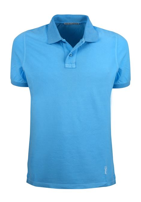 Short sleeves polo, two buttons garment dyed. WORLD END | Polos | 100271