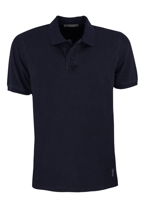 Short sleeves polo, two buttons garment dyed. WORLD END | Polos | 100290