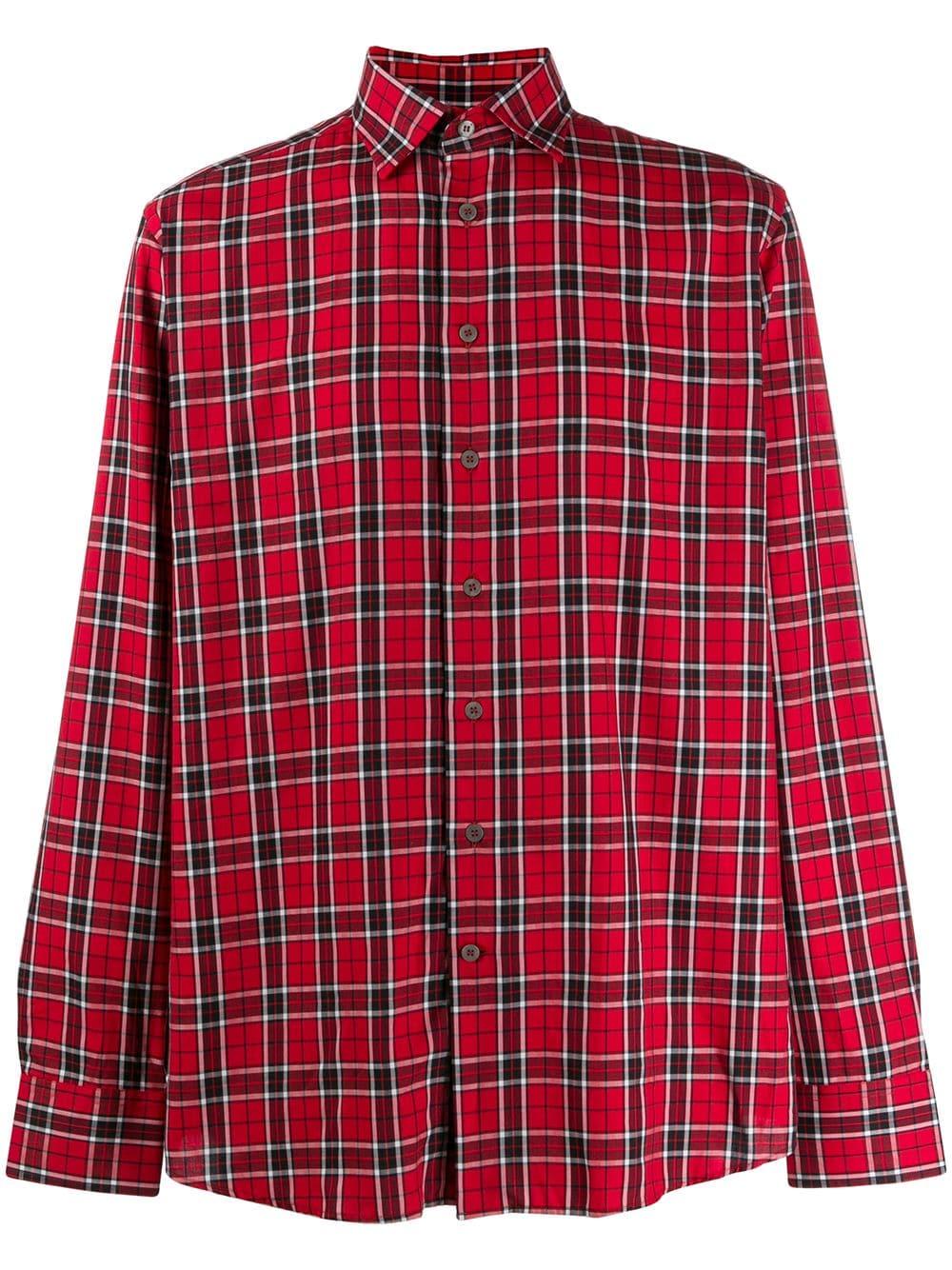 hot sale online 0cd83 c6891 Camicia Rossa A Quadri