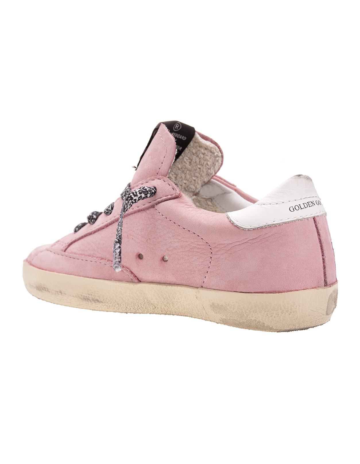 separation shoes 971f1 51d4c Sneakers Superstar Golden Goose Kids Rosa Con Stella Glitter