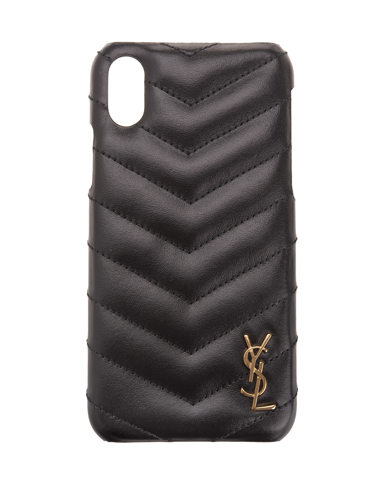 online retailer 10a49 032ac Monogram Cover Case For iPhone XS Black