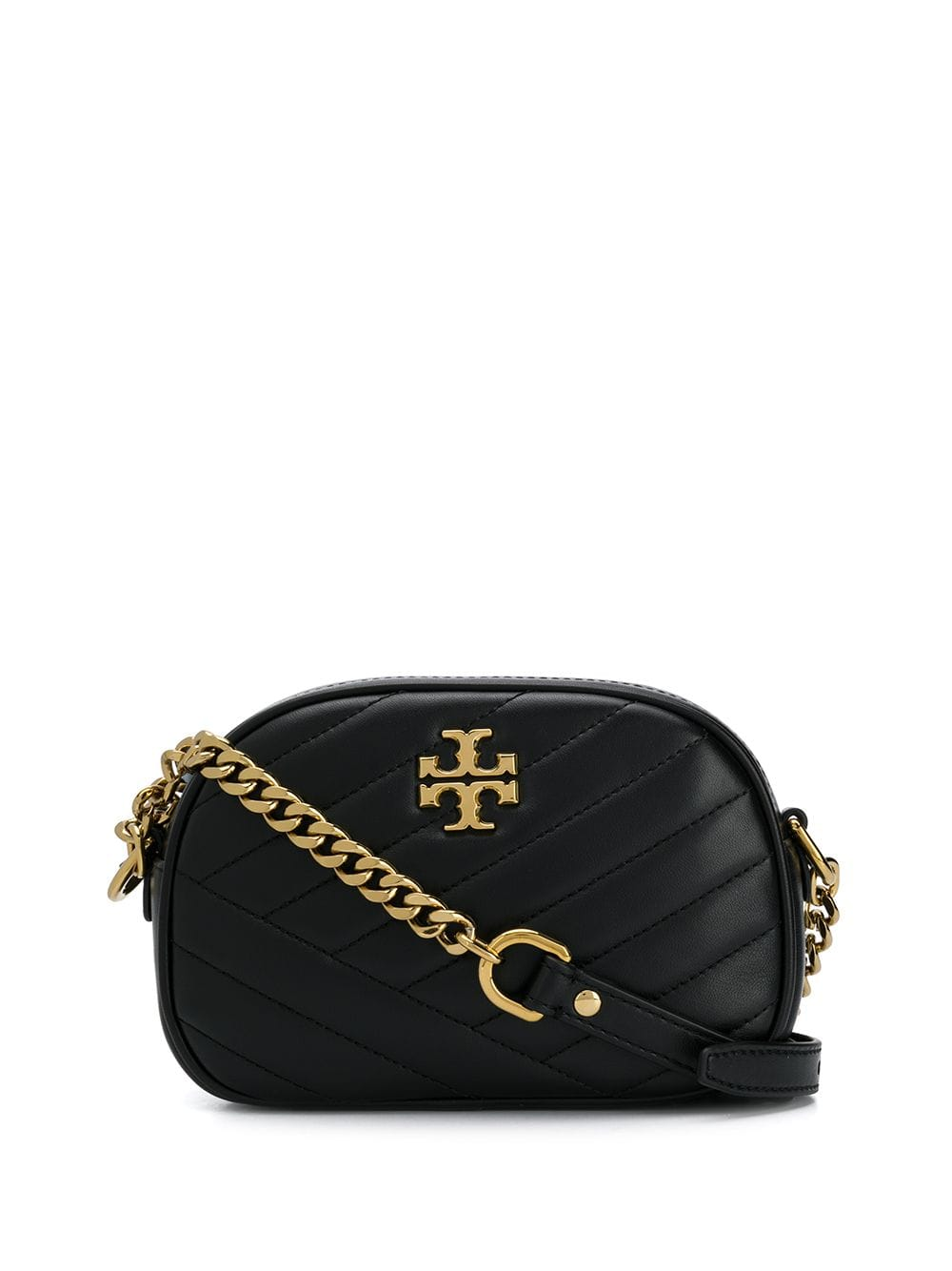 5ee9399129 Black Kira Chevron Small Camera Bag - TORY BURCH - Russocapri
