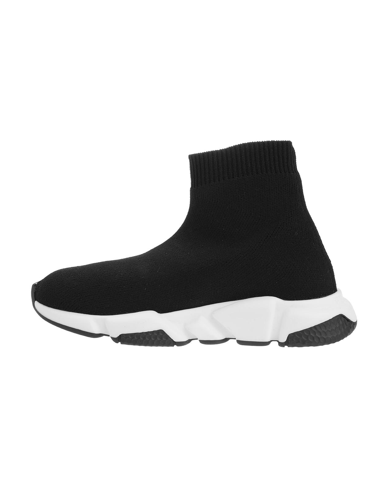 Black Balenciaga Kids Speed Sneakers