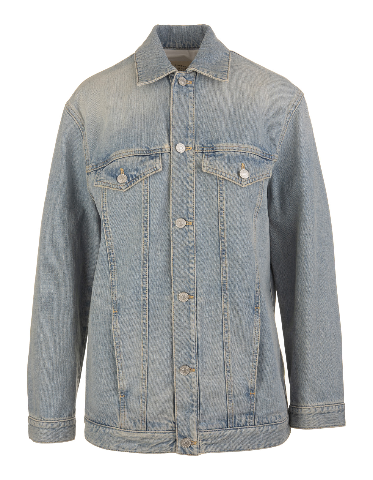 more photos 3ed51 c12ec Giacca Oversize GIVENCHY In Denim
