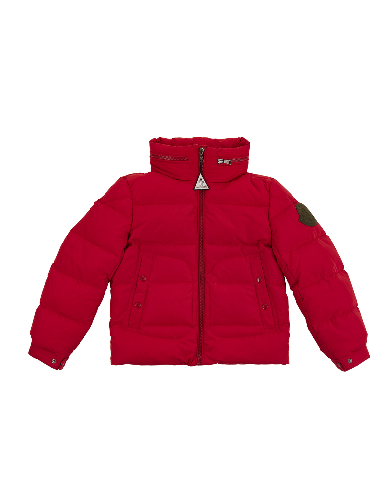 check out 20eb9 144ce Piumino Rosso Moncler Kids