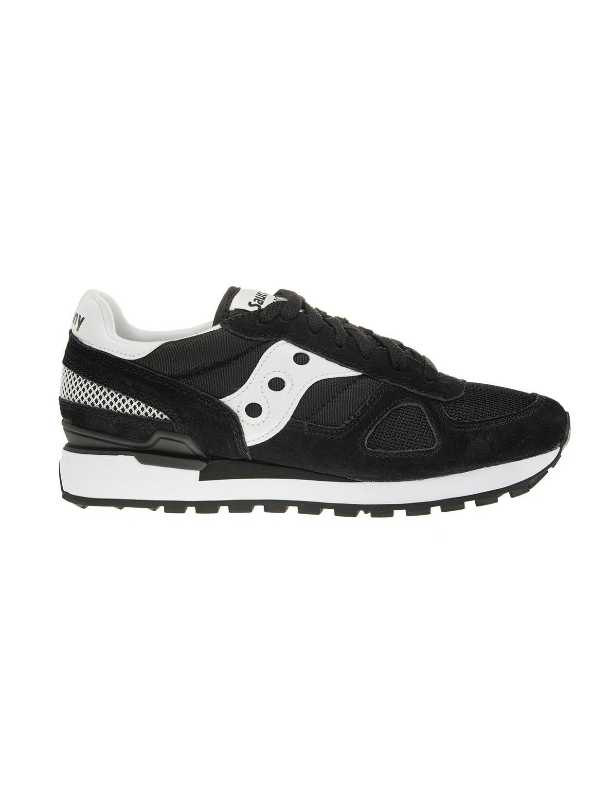 new product cb1ee 5778f Saucony Originals Shadow O' Black/White