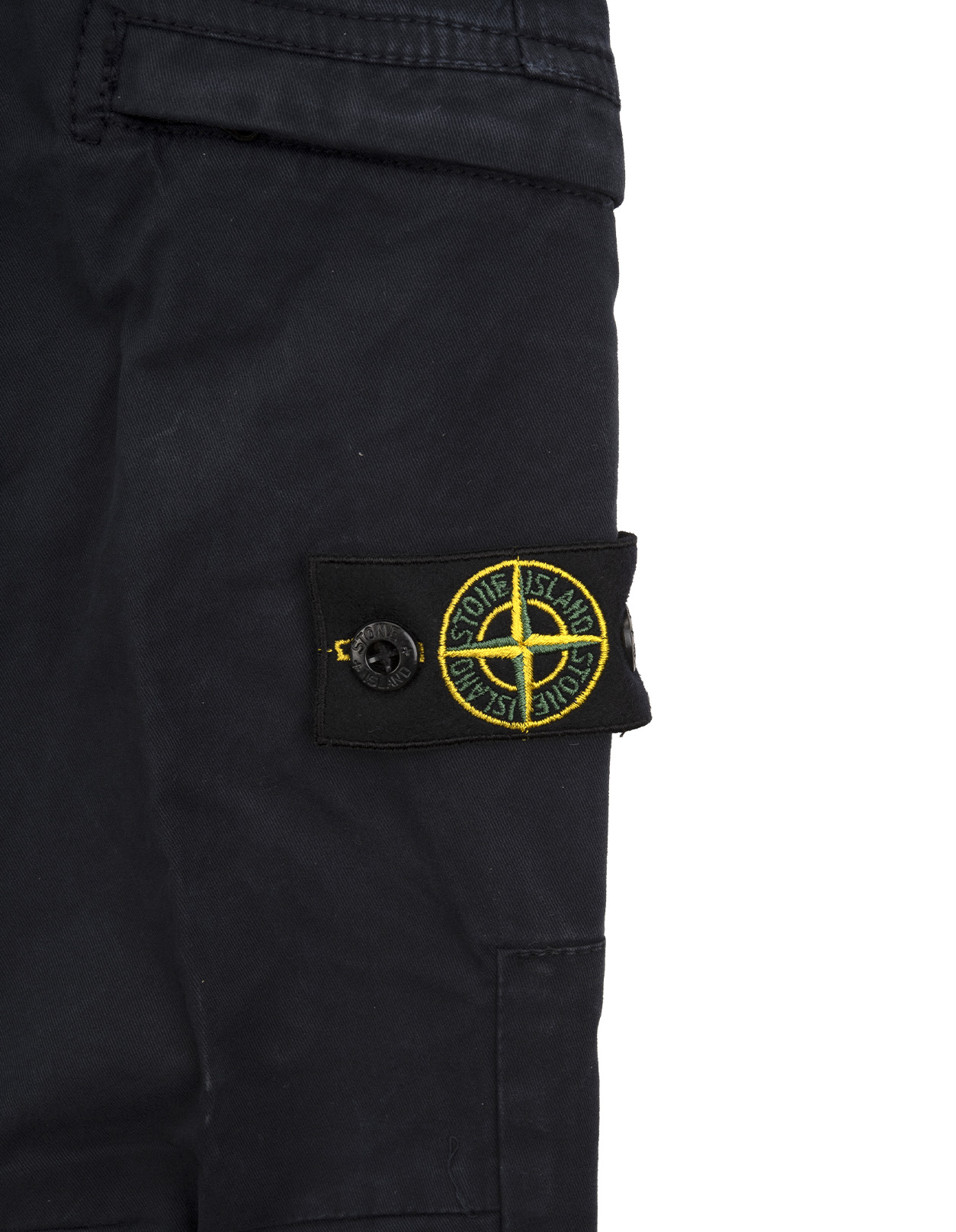 superior performance get new purchase authentic Stone Island Kids Dark Blue Skinny Cargo Pants