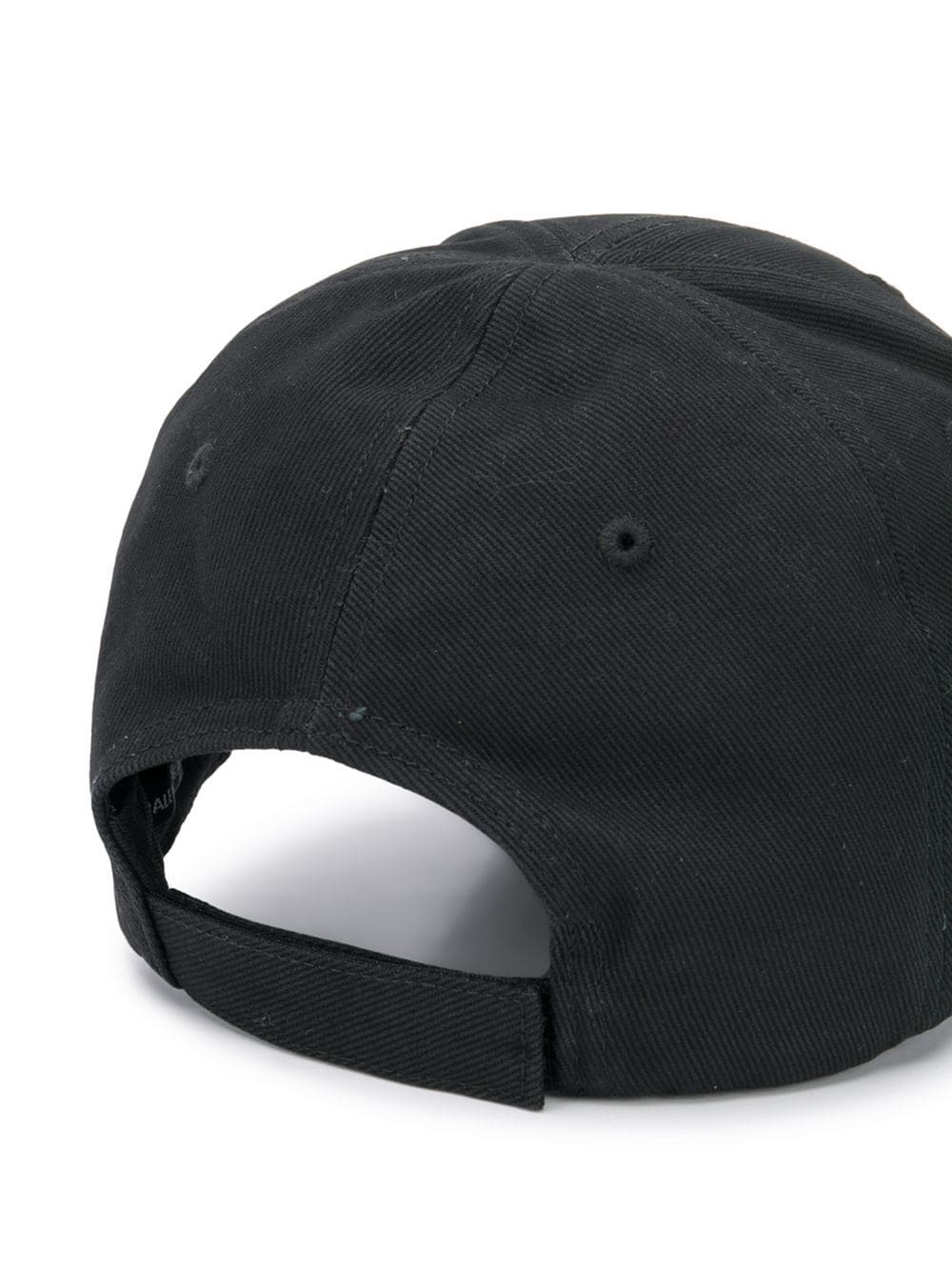 cff03d0150bc8 Black Baseball Hat With Multicolored Logo - BALENCIAGA - Russocapri