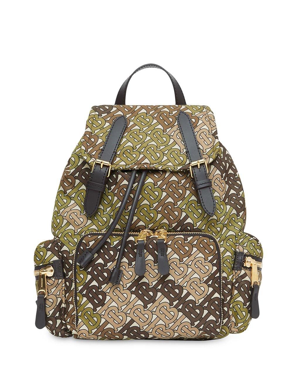 79fbd9f731d Medium The Rucksack Backpack With Monogram Print - BURBERRY - Russocapri