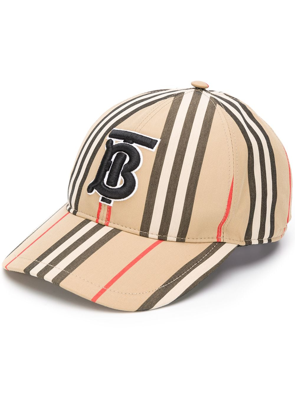 67431fcc572af Baseball Cap With Iconic Striped Pattern - BURBERRY - Russocapri