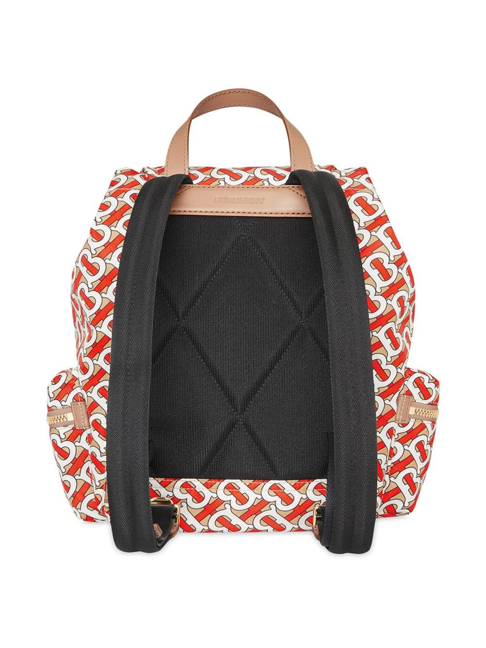 9b220049a6a Medium The Rucksack Backpack In Nylon With Monogram Print - BURBERRY ...